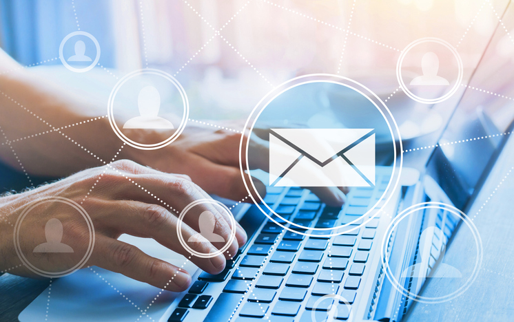 Email User On Segmented Network