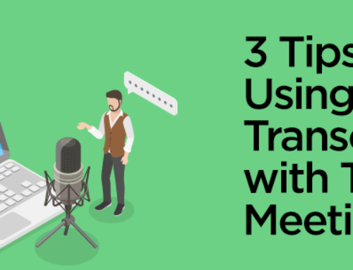 3 Tips for Using Live Transcription with Teams Meetings
